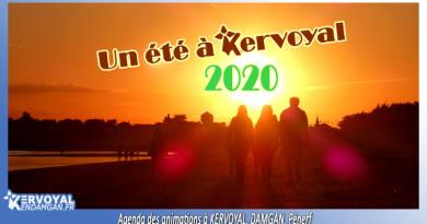 agenda de l'été 2020 animations kervoyal damgan morbihan tourisme